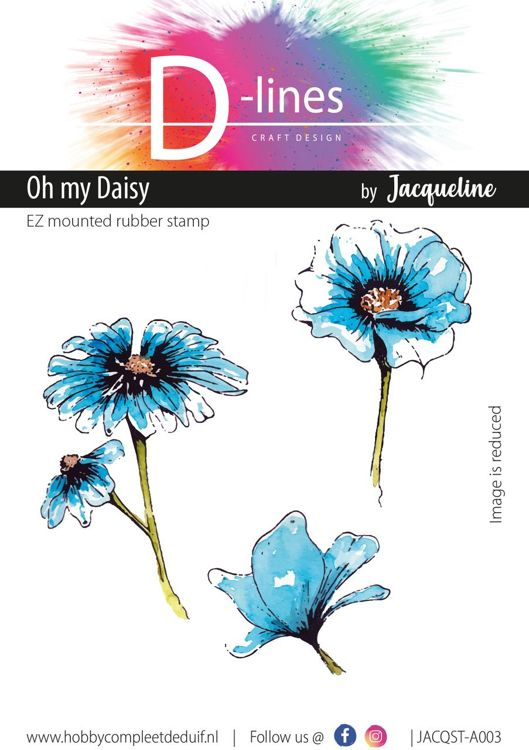 D-Lines - EZ mounted rubber stamps - Oh my Daisy