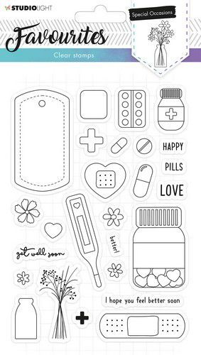 Studio Light - Clearstamp Essentials Favourites - A5 STAMPSL486