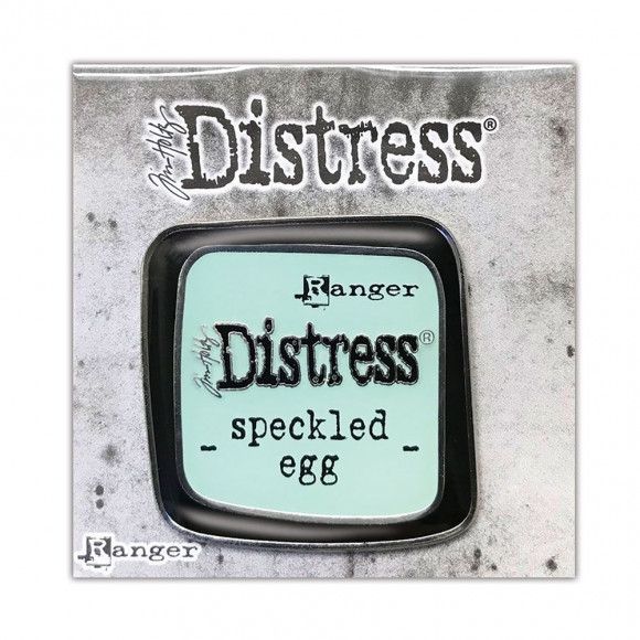 Tim Holtz - Distress®  Enamel Pin - Speckled Egg