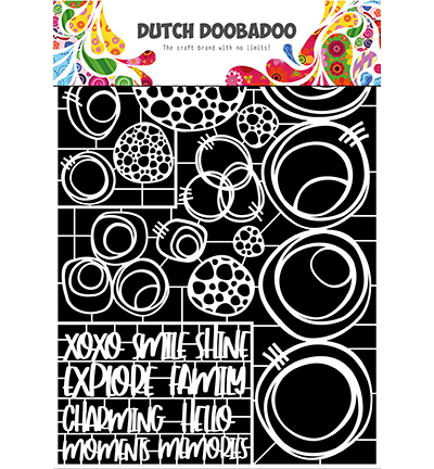 Dutch Doobadoo - Dutch Laser Paper Art - Circles