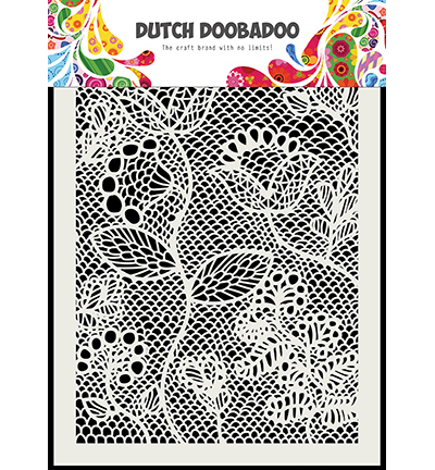 Dutch Doobadoo - Dutch Mask Art - Dutch Mask Zentangle