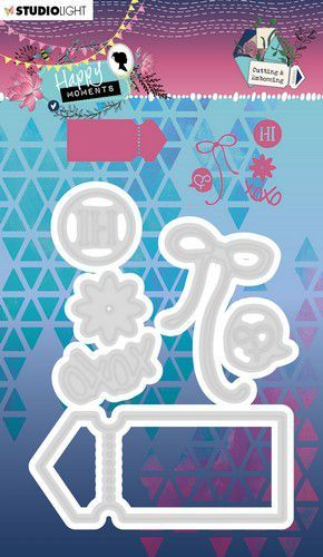 Studio Light - Happy Moments - Cutting stencil STENCILHM291
