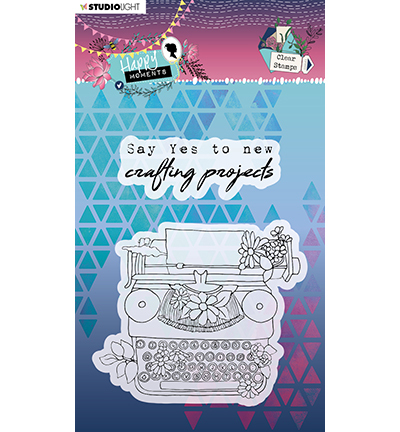 Studio Light - Happy Moments - Clear Stamp STAMPHM458