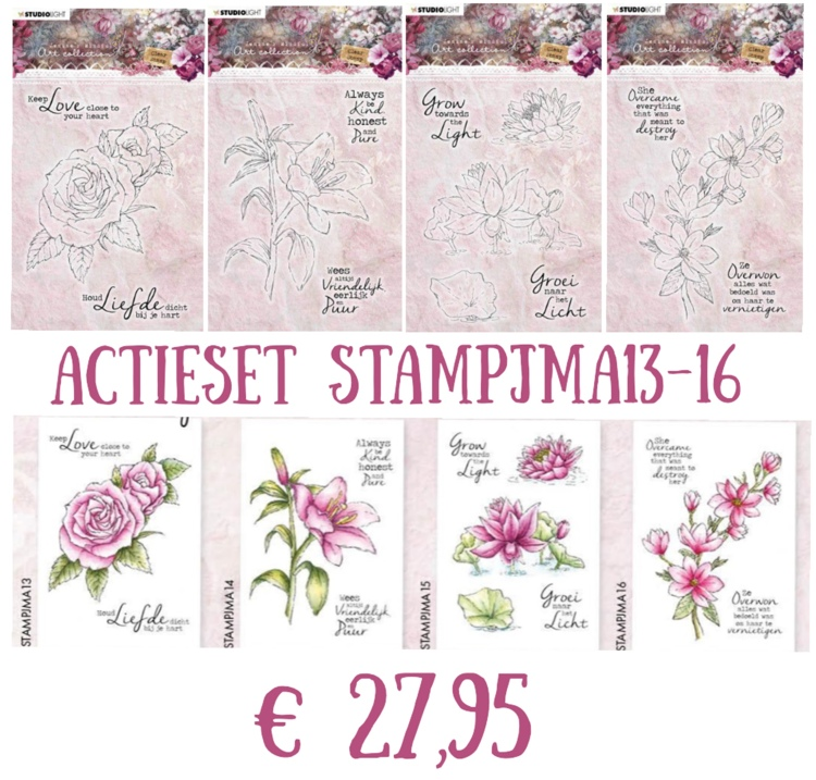 Actieset - Jenine's Mindful Art Collection 4.0 - Stempelset