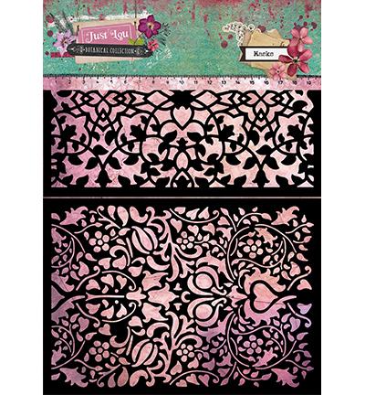 Studio Light - Just Lou Botanical  - Mask stencil A4 - MASKJL06