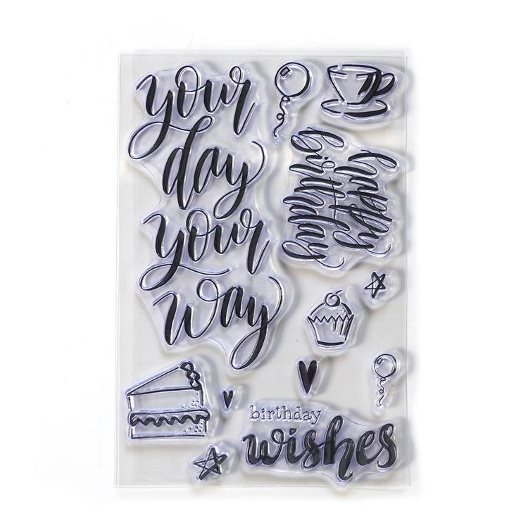 Elizabeth Craft Design - Clearstamp - Your Day