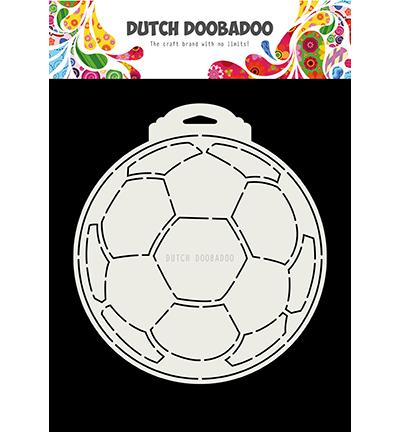 Dutch Doobadoo - Dutch Card Art -  Soccer ball