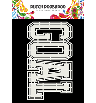 Dutch Doobadoo - Dutch Card Art -  Goal