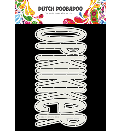 Dutch Doobadoo - Dutch Card Art -  Opkikker