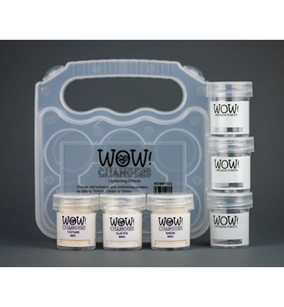 WOW! Embossing - It Changers kit (Lightening Effects)
