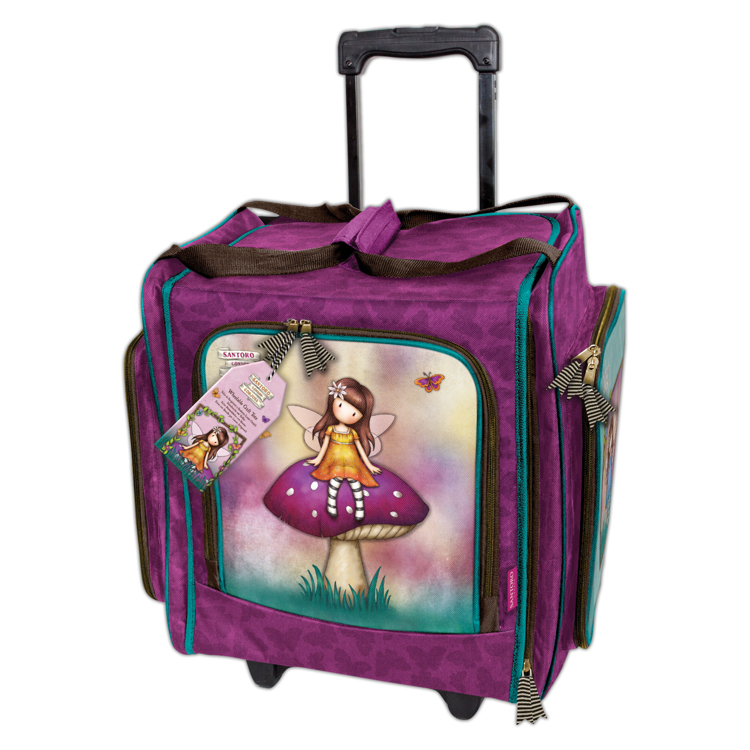 Wheelable Craft Tote - Santoro - Faerie Folk
