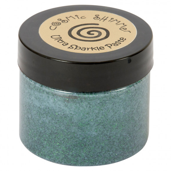 Cosmic Shimmer - Ultra Sparkle Paste - Hunter Green