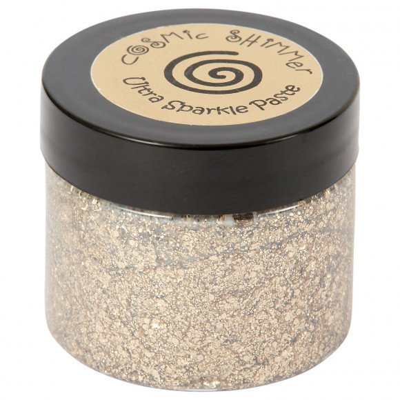 Cosmic Shimmer - Ultra Sparkle Paste - Golden sand