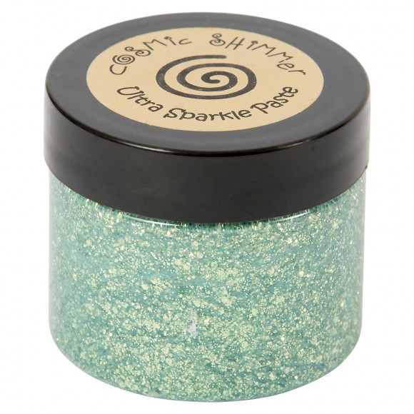 Cosmic Shimmer - Ultra Sparkle Paste - Sea green