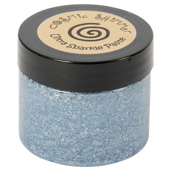 Cosmic Shimmer - Ultra Sparkle Paste - Blue Gunmetal