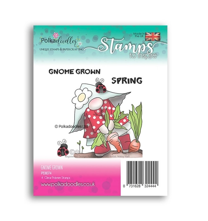 Clearstamp Polka Doodles - Spring - Gnome Grown