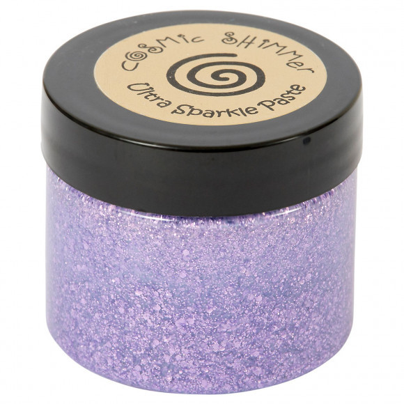 Cosmic Shimmer - Ultra Sparkle Paste - Lavendel
