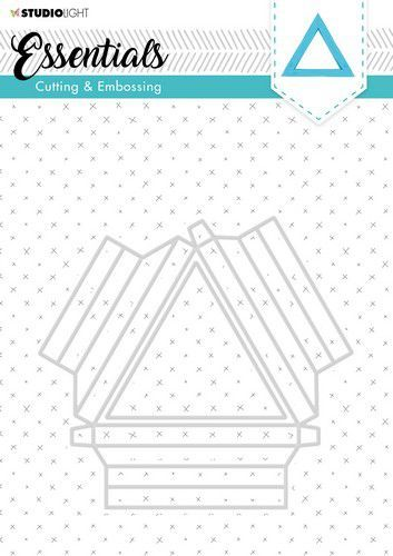 Studio Light - Embossing Die Cut Stencil - Shadowbox STENCILSL294