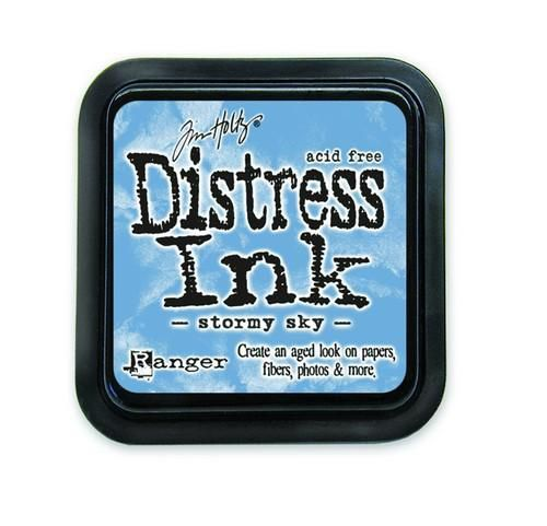 Distress Ink - Stormy Sky