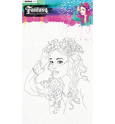 Studio Light - Fantasy Collection 3.0 - Clearstamp A5 - STAMPFC472