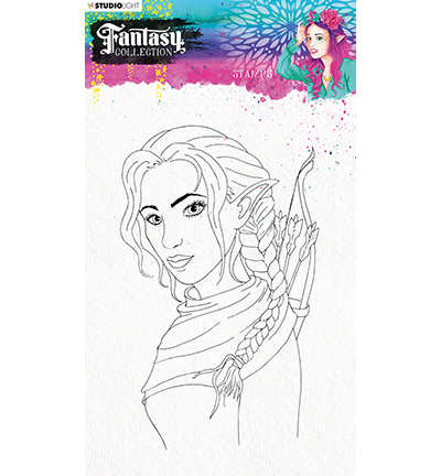 Studio Light - Fantasy Collection 3.0 - Clearstamp A5 - STAMPFC473