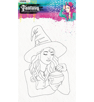Studio Light - Fantasy Collection 3.0 - Clearstamp A5 - STAMPFC474