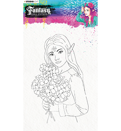 Studio Light - Fantasy Collection 3.0 - Clearstamp A5 - STAMPFC475