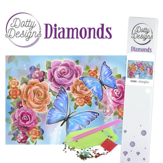 Dotty Designs Diamonds - Butterfly
