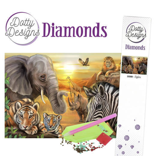 Dotty Designs Diamonds - Safari