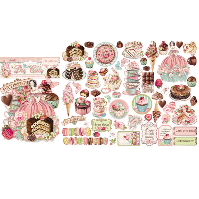Stamperia - Die-Cuts - Sweety