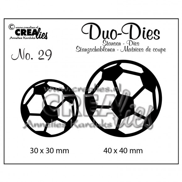 Stansmal - Crealies - Duo Dies - nr 29 Voetbal
