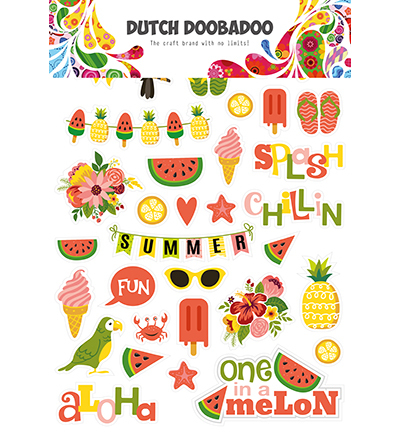 Dutch Doobadoo - Dutch Sticker Art - Summer