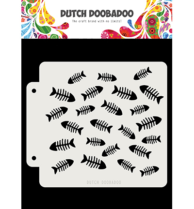 Dutch Doobadoo - Dutch Mask Art - Visgraat