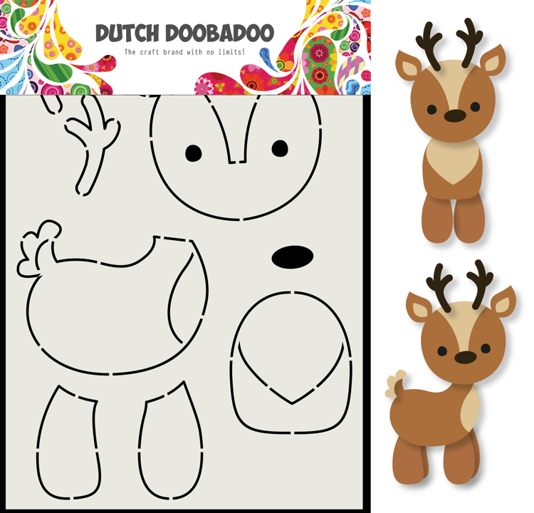Dutch Doobadoo - Dutch Build Up Art - Rendier