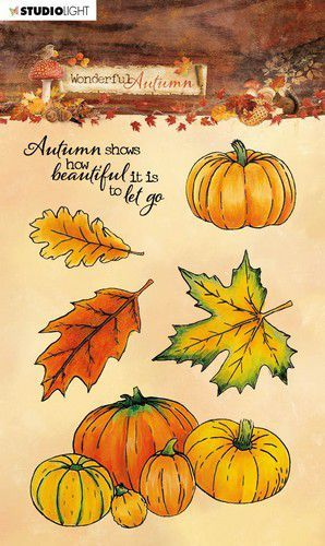 Studio Light - Wonderful Autumn - Stempel A6 - STAMPWA478