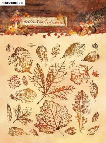 Studio Light - Wonderful Autumn - Stempel 14 x 14 cm - STAMPWA483