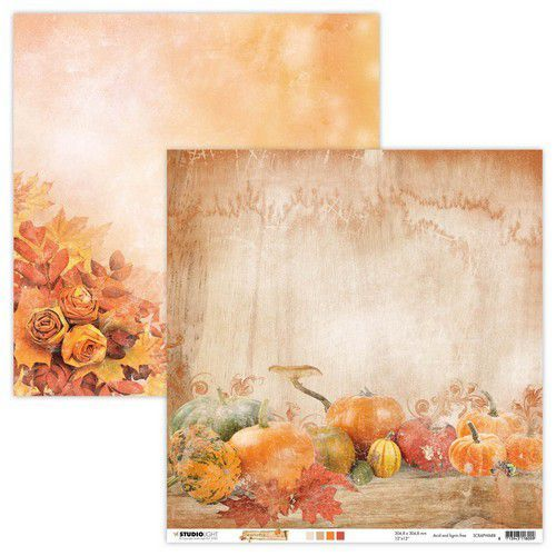 Studio Light - Wonderful Autumn - Scrappapier 30,5 x 30,5 cm - SCRAPWA88