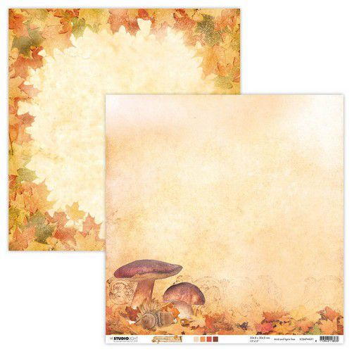 Studio Light - Wonderful Autumn - Scrappapier 30,5 x 30,5 cm - SCRAPWA91