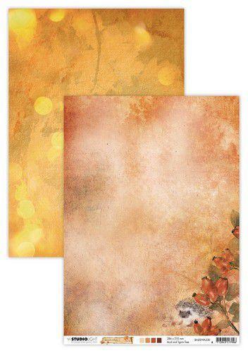 Studio Light - Wonderful Autumn - Basisvel A4 - BASISWA330