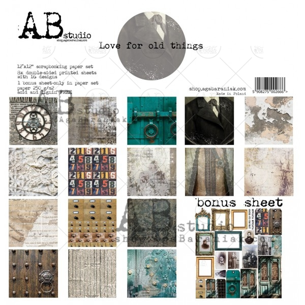 Collection Kit - AB Studio - Love for old things