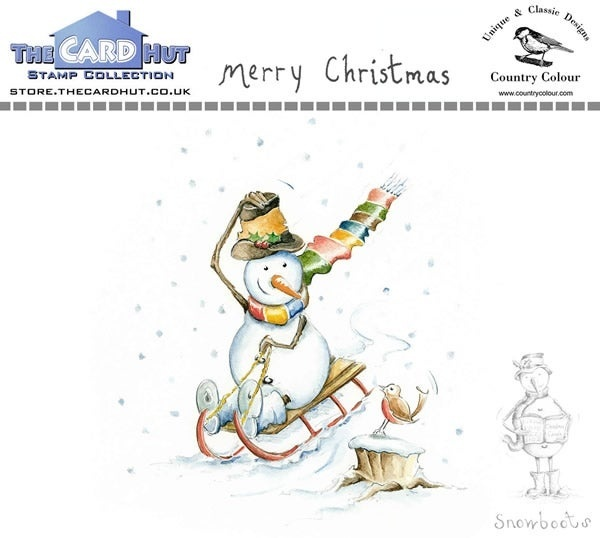 The Card Hut - Snowboots: Merry Christmas