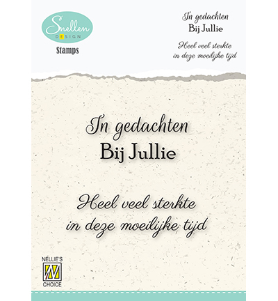 Nellie's Choice - Clearstamps In gedachten - DCTCS005