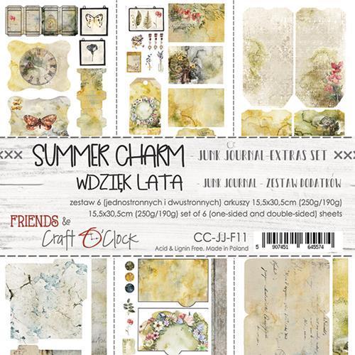 Craft O' Clock - Summer Charm - Junk Journal Kit