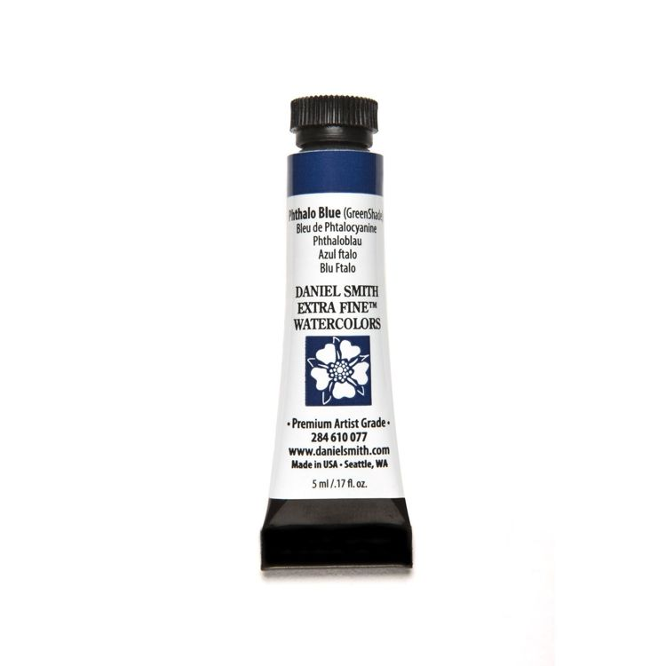 Daniel Smith - Extra fine watercolors - Tube 5ml - Phthalo Blue