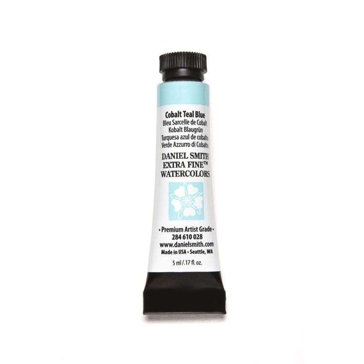 Daniel Smith - Extra fine watercolors - Tube 5ml - Cobalt Teal Blue