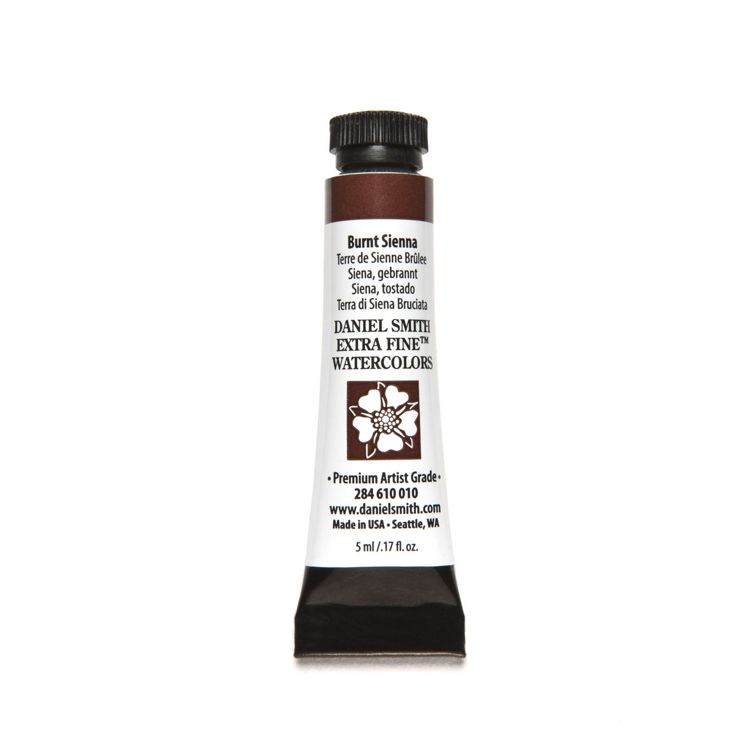 Daniel Smith - Extra fine watercolors - Tube 5ml - Burnt Sienna