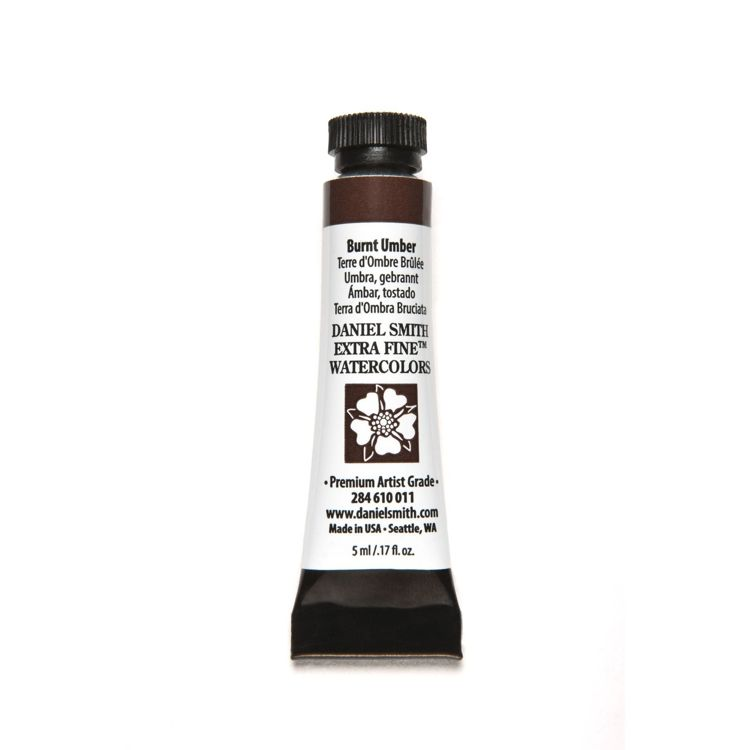 Daniel Smith - Extra fine watercolors - Tube 5ml - Burnt Umber