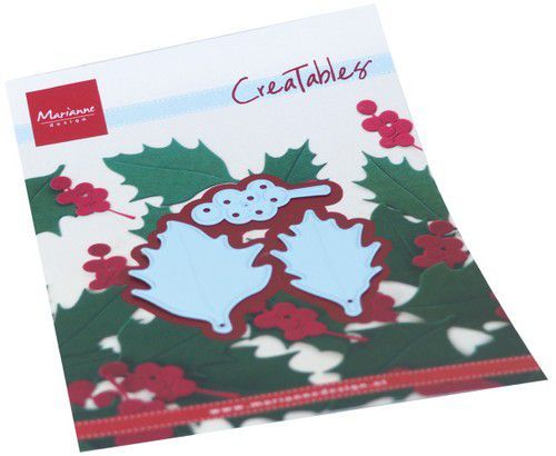 Marianne Design Creatables - Holly Leaves