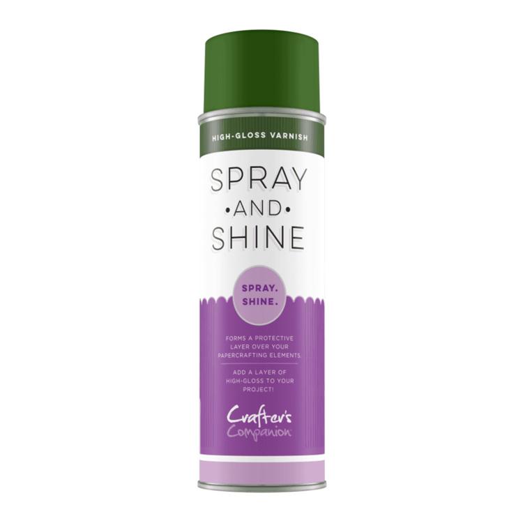 Crafter's Companion - Spray & Shine - Hoogglans lak/vernis (Groene Bus)