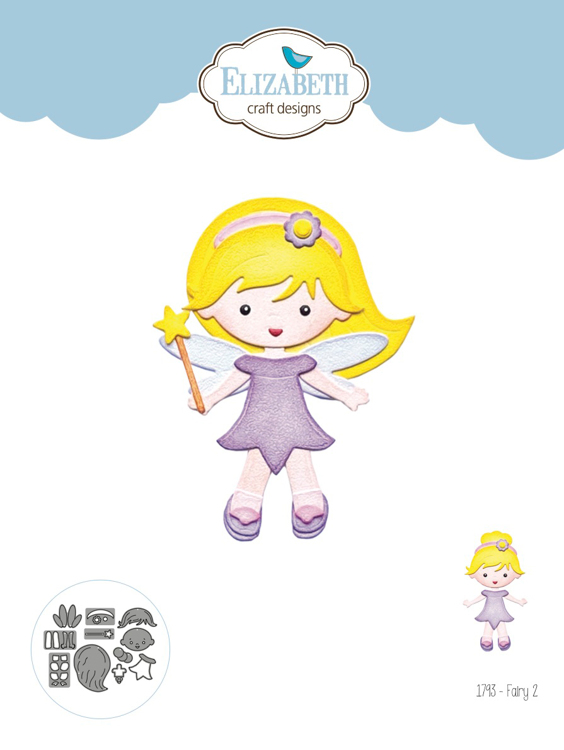 Elizabeth Craft Design - Storybook Collection - Fairy 2